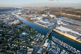 Setting the course for Seattle's Duwamish River