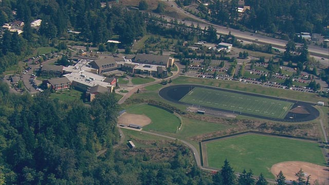 Todd Beamer High School in Federal Way, Wash. Credit: KING 5